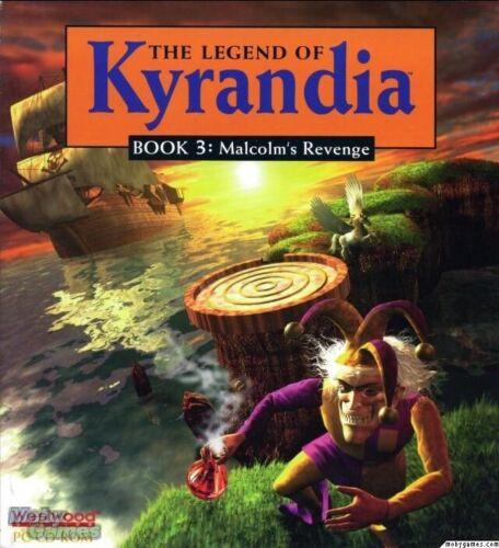 THE LEGEND OF KYRANDIA BOOK 3 1Clk 32//64 Windows 10 8 7 Vista XP Install