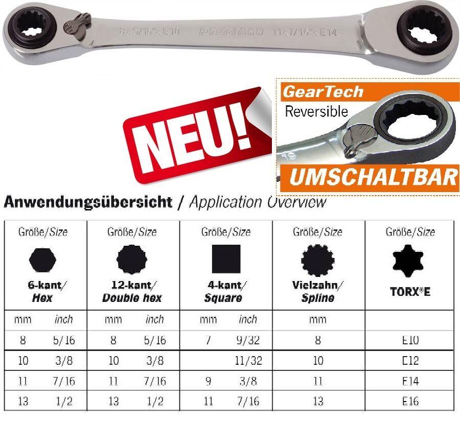 GearTech 31-in-1, Umschaltbarer Ratschenschlüssel    3466-01