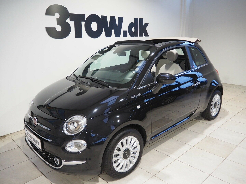 Fiat 500C 1,0 Dolce Vita 2d - 169.980 kr.