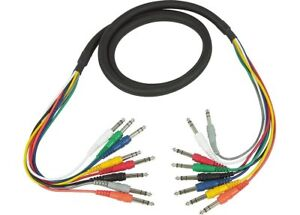 Hosa-CSS-802-1-4-in-TRS-to-Same-8-Channel-Balanced-Snake-Cable-2m-6-6-ft