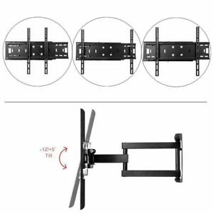 "TV Wandhalterung Wandhalter LCD LED Fernseher 26-65 Zoll schwenkbar neigbar 55"""