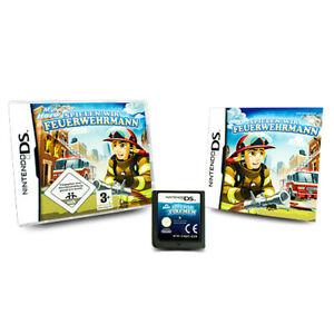 Nintendo-Jeu-DS-Jeux-Nous-Pompier-Mon-Hero-Emballage-D-039-Origine-avec-Manuel
