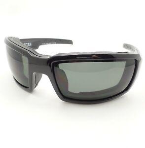 f328ecad0a Wiley X Titan Grey Polarized Gloss Black Grey Sunglasses Authentic ...