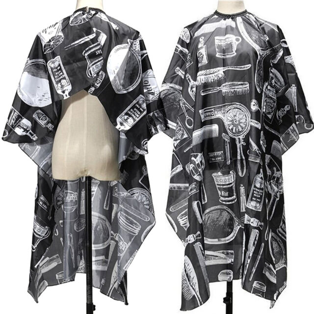 Adult Salon Barbers Hairdresser Hair Cutting Cape Gown Hairdressing Clothes TIUK