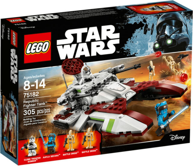 LEGO Star Wars Republic Fighter TANK 75182 astronave carri armati NUOVO NEW SEALED OVP