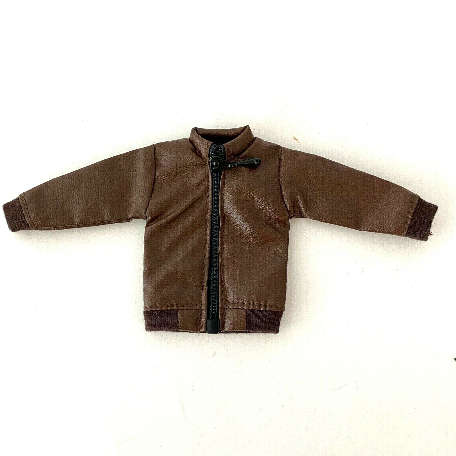 SU-ZPJK-TN: 1/12 Dark Brown Zipper Jacket for Mezco, Marvel Legends (No Figure) on eBay thumbnail