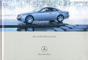 1050MB-Mercedes-CL-Klasse-Prospekt-2005-6-05-deutsche-Ausgabe-brochure