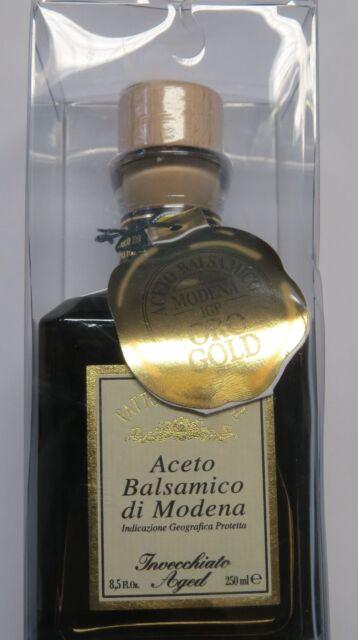 (1L=107,60 €) Fattoria Estense Aceto Balsamico GOLD - Balsamico di Modena 250ml
