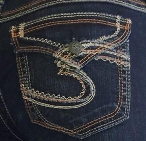 NEW-Silver-Jeans-Women-039-s-SUKI-SURPLUS-Mid-Rise-BootCut-Leg-80906A