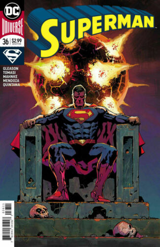 Superman #36 Comic 2018 DC Comics 1st Print Kalel Supergirl Superboy Krypto
