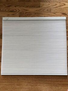 Details About Pella Blinds Inbetween The Gl White Linen For Sliding Doors