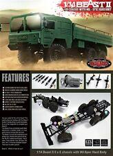 RC4WD Beast II 6x6 Truck Kit RC4Z-K0052