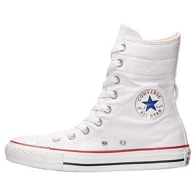 Women's Converse All Star Chuck Taylor Hi rise XHI white