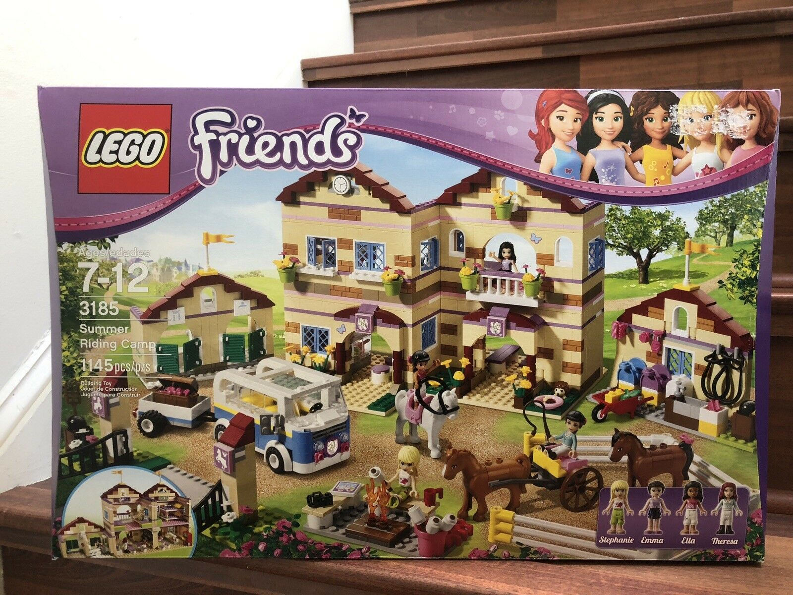 NEW LEGO Friends Summer Riding Camp 3185 , SEALED