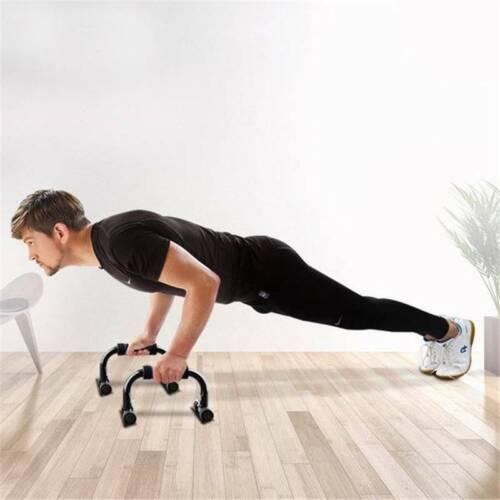Non Slip Push Up Stands Bracket Bar Sports Hand Grip Handle Fitness Equipment