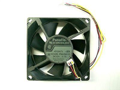 1 St Panaflo ventiladores 12v dc 0,1a m 80x80x25mm sensor