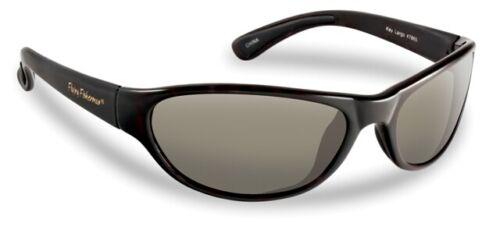 Flying Fisherman 7865BS Key Largo Polarized Sunglasses/, Black Frames With Sm