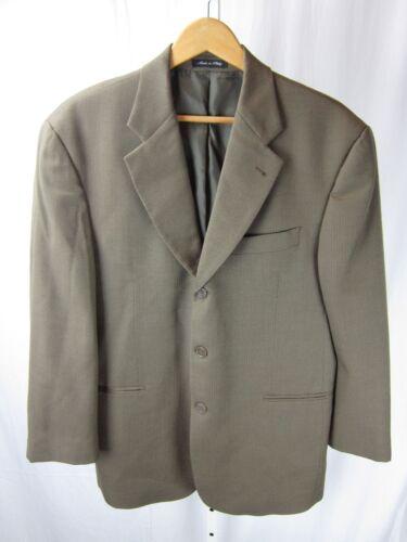 52 Mens Italia cappotto lana marrone 42s Montana btn di Us Via Giacca 3 pqtUTnnS
