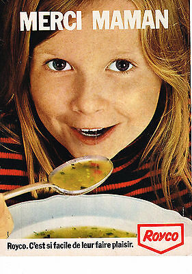 Publicite Advertising 1973 Royco Potage Beneficial To The Sperm Breweriana, Beer