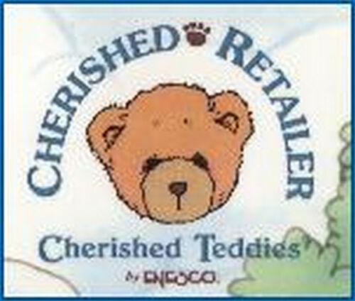 """CHERISHED TEDDIE PLUSH /""""JENNIFER PLUSH BEAR/"""" 649155"""
