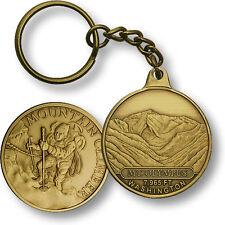 Mt. Olympus / Mountain Climber - Washington Bronze Challenge Coin Key Chain