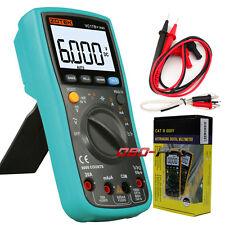 VC17B+ TRMS Digital Multimeter 6000 Counts AC DC Temperature Measurement Tool
