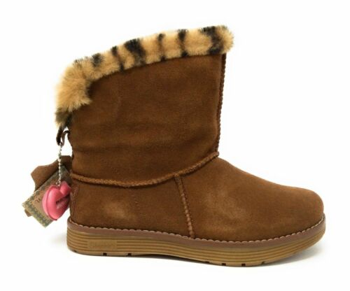 Skechers Womens Adorbs Polar Winter Snow Boot Chestnut Brown Size 6.5 US