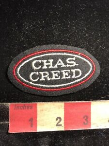 CHAS-CREED-Name-Or-Advertising-Patch-83X3
