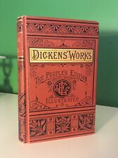 1881 Pickwick Papers By Charles Dickens Ornate Victorian Binding Illustrated