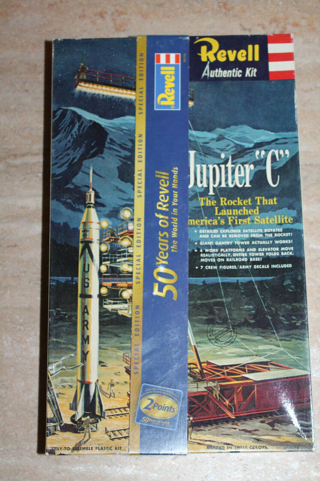 Revell H-1819 Authentic Kit Jupiter C 1 100 NEU OVP RAR