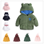 Toddler Baby Boy Girl Hooded outerwear Autumn//Winter Warm coat jacket Clothes