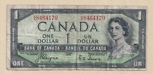 Devil-039-s-Face-1954-1-Bank-of-Canada-Coyne-Towers-Fine