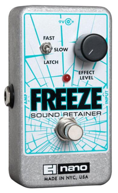 Electro-Harmonix Freeze SUONO Fermo Infinite Sostenere Pedale