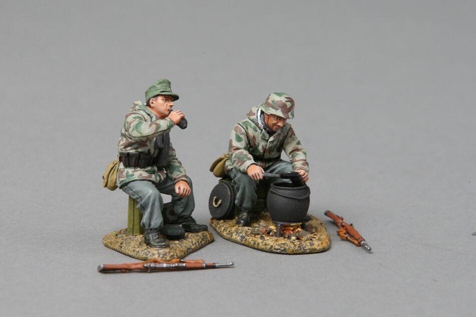 Thomas Gunn ss056a - - - II German desayuno Club, parte 3, soldados de cera blancoa de Normandía 980