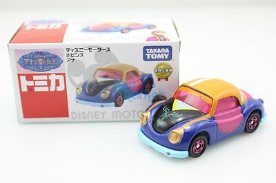 Takara Tomy Disney Motors TSUM TSUM Snow Princess 3X SET Diecast Toy Car 2015