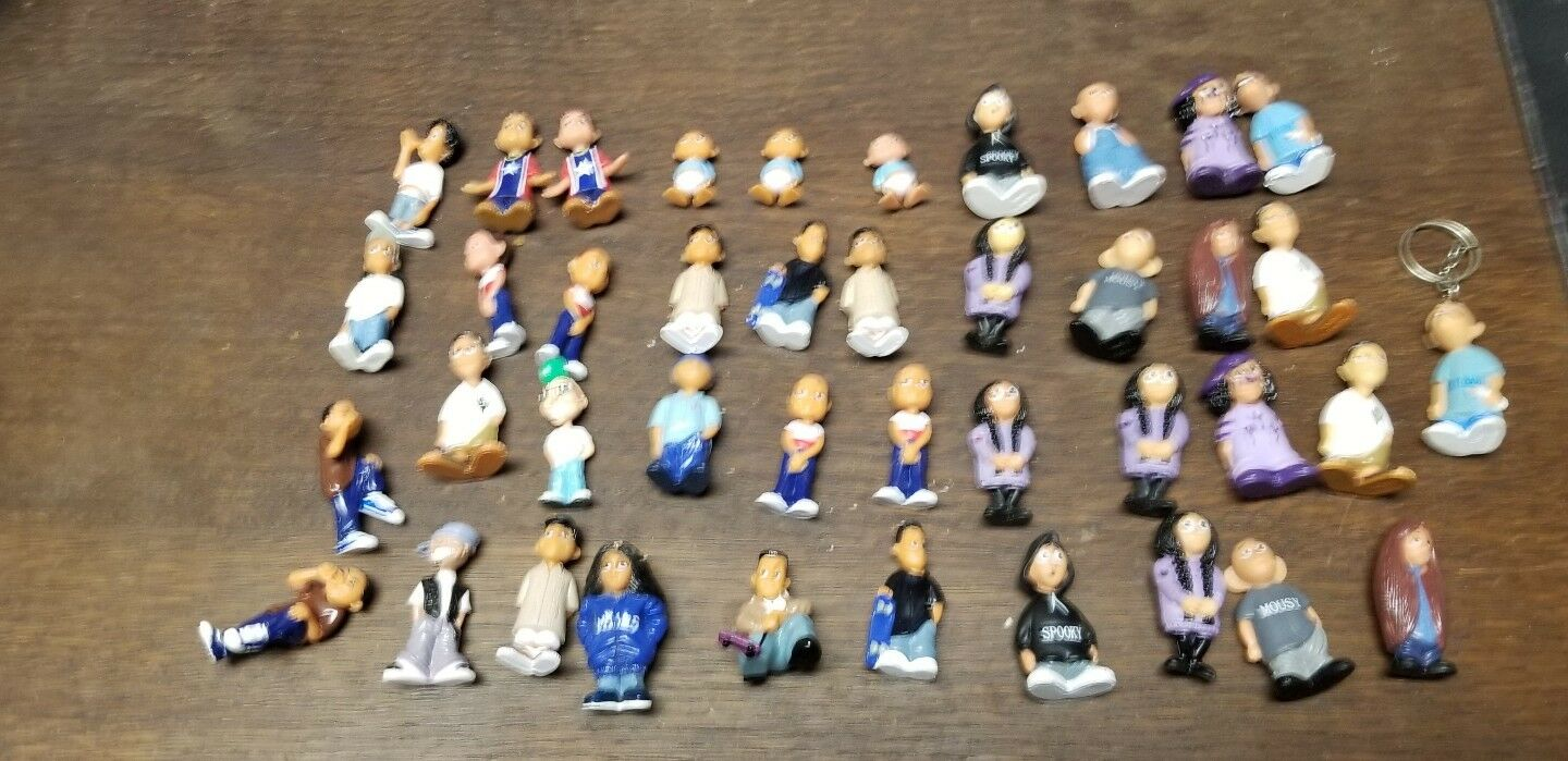 HOMIES LOT of 50 Figures Mixed with duplicates some scarce cry baby keychain