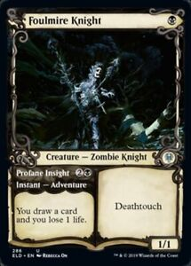 MTG x4 Foulmire Knight Throne of Eldraine Uncommon NM//M Magic the Gathering