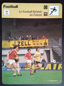 Sheet Editions Rencontre S.A Lausanne Soccer Female IN France