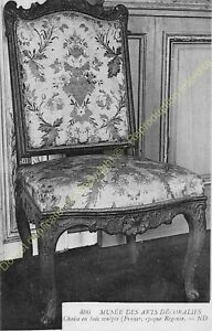 Postcard-Arts-Decorative-Furniture-Chaise-Period-Regency-Edit-ND-406