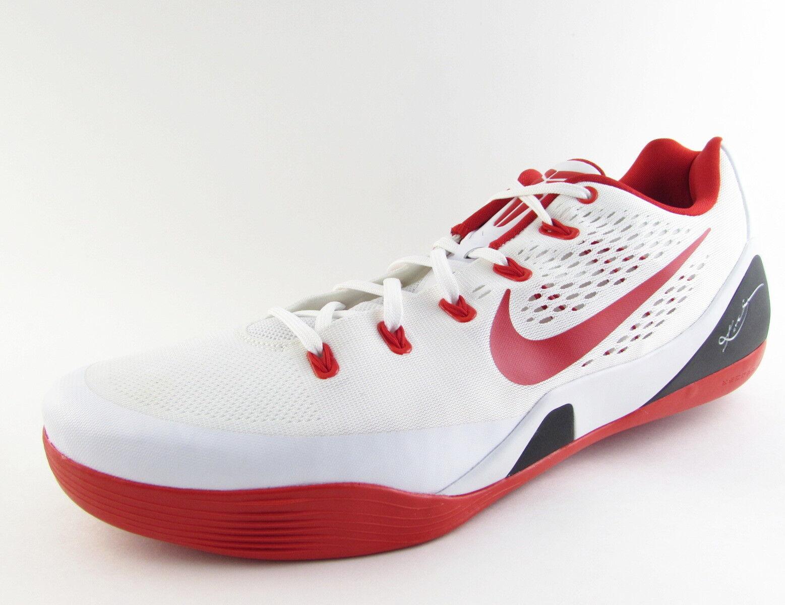 New NIKE KOBE IX 9 Niedrig EM TB Sport ROT LA Lakers Bryant Sport TB Basketball Schuhe Größe 18 843f6f