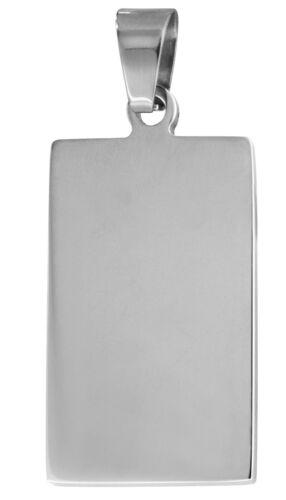 TRENDOR Schmuck Stahl Gravuranhänger 71576 mit kostenloser Gravur