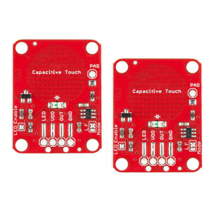 2x-Capacitive-Touch-Sensor-Breakout-Controller-for-Arduino-DIY-AT42-Red