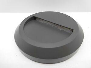 TIMEGUARD-LEDSL3DG-1-3W-ROUND-LED-STEP-LIGHT-ENERGY-SAVING-DARK-GREY-IP65