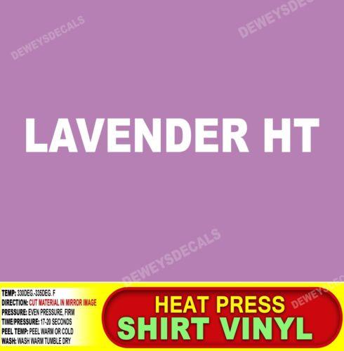LAVENDER Heat transfer vinyl//T-Shirt//Cutter//punch//sheet//roll//thermal//press