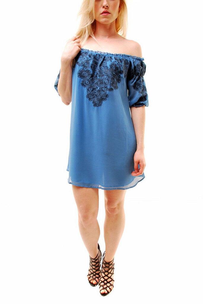 For Love & Lemons Frauen Sizilien Sizilien Sizilien Blau Minikleid Blau Größe M  BCF65   Deutschland    Förderung    Sonderpreis  69134f