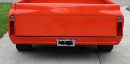 67-72 Chevy//GMC truck,blazer,Jimmy steel Rollpan smooth roll pan