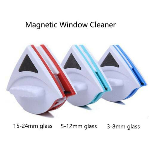 Magnetic Window Cleaner for Glazed Window Double Sided Glass Wiper Clean-Brush