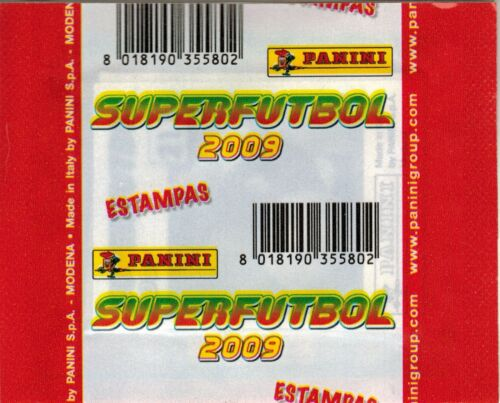 Mexico 2009 Panini SuperFutbol Soccer sticker Pack