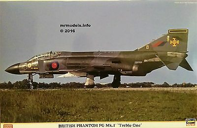 Hasegawa 1/48 British Phantom FG Mk.1 'Treble One' New Plastic Model Kit 07441
