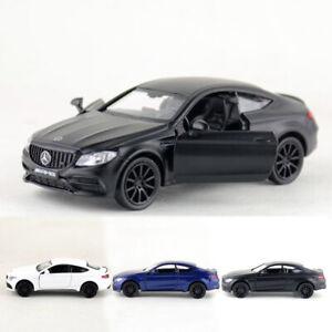 1-36-Mercedes-Benz-C63-AMG-Coupe-Coche-Modelo-de-Metal-Regalo-de-vehiculos-de-juguete-Diecast-ninos